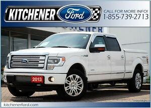 2013 Ford F-150 Platinum PLATINUM/HEAT&COOL LEATHER/CAMERA/RO...