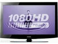 Samsung full hd with free veiw, remote