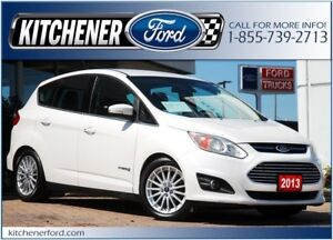 2013 Ford C-Max Hybrid SEL LEATHER/CAMERA/NAVI/HTD SEATS AND...