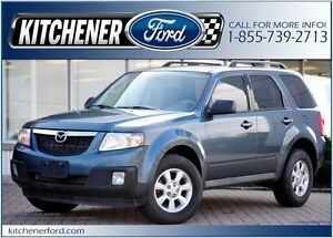 2011 Mazda Tribute GX I4 4WD/PWR WINDOWS, LOCKS&SEAT/ROOF RAC...