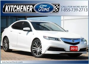 2015 Acura TLX Tech ONLY 29K KM'S!/LEATHER/CAMERA/NAVI & MORE!