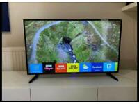 "43"" Smart Blaupunkt WiFi Led Full HD 1080P tv Freeview HD Youtube Netflix Excellent Condition"
