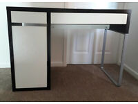 IKEA MICKE DESK AND SEPARATE MATCHING DRAWERS