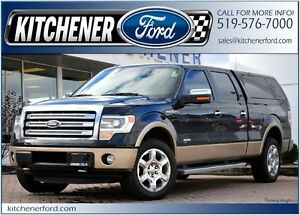2013 Ford F-150 Lariat LARIAT/CREW/4X4/LEATHER/CHROME 20'S/LO...
