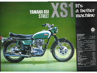 Wanted Yamaha XS650 XS1 or XS2 early 70s Project Barn Find