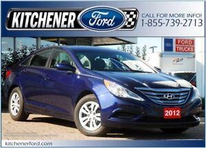 2012 Hyundai Sonata GL GLS/HTD SEATS/PWR LOCKS&WINDOWS/ONLY 8...