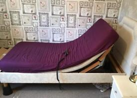 Single electric bed