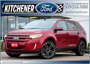 2013 Ford Edge SEL SEL/AWD/CAMERA/NAVI/PANO ROOF/SIRIUS/HTD S...