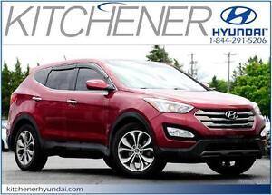 2013 Hyundai Santa Fe 2.0 TURBO SE // LEATHER // PANORAMIC SUNRO