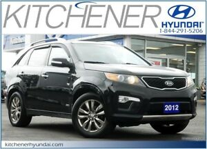 2012 Kia Sorento SX V6 SX // AWD // LEATHER // SUNROOF // NAV...