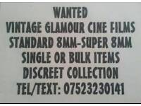 Wanted 8mm Cine Films