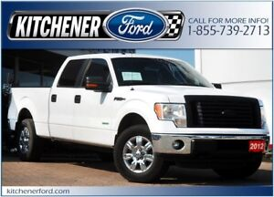 2012 Ford F-150 4WD/TOW PKG/HTD MIRRORS/ADJ PDLS/PWR GROUP