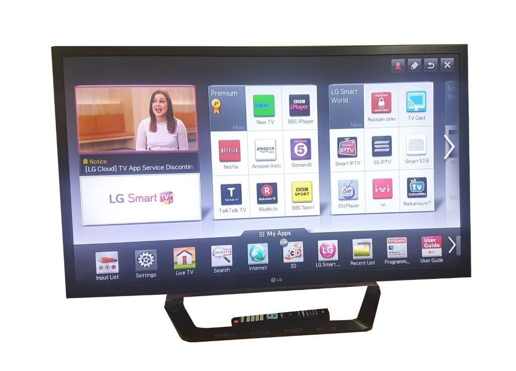 LG 42inch WIRED SMART TV - 3D FULL HD LED