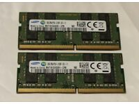 PC Memory DDR4 16GB 2133MHz Samsung Memory for £70