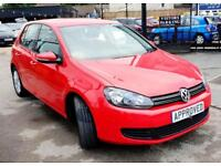VOLKSWAGEN GOLF 1.4 MATCH TSI 5d 121 BHP Apply for finance Online today! (red) 2012