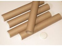 Cardboard Tubes Suitable for rolled Photographs