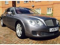 Bentley Flying Spur 6.0 2006 71K Dual Fuel Full History Silver Immaculate