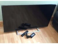 "Sony Bravia 48"" Wi-Fi builtin smart internet led tv builtin Freeview HD- slim design"