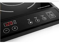 Portable Andrew James Double Induction Hob 2800 Watts RRP £85
