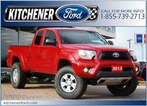 2013 Toyota Tacoma 4WD/CAMERA/PWR LOCKS&WINDOWS/ONLY 42k KM'S