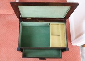 Sewing Box / Table with under draw. All wood construction, British manufactured by Chard
