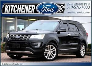2016 Ford Explorer Limited AWD/LEATHER/HEAT & COOL SEATS/PANO...