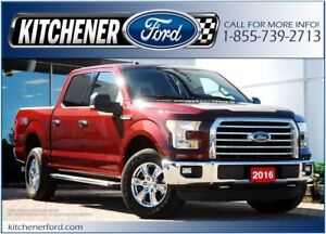 2016 Ford F-150 XLT/4WD/TOW PKG/CAMERA/NAVI/PWR GROUP