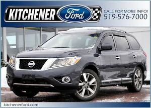 2014 Nissan Pathfinder LEATHER/HEAT&COOL SEATS/ROOF/NAVI/SNOW...