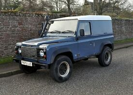 1996 Land Rover Defender 90 300tdi - 12 months MOT. Waxolyed chassis, clean condition, reliable.