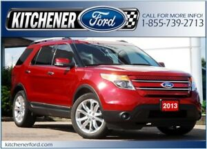 2013 Ford Explorer Limited 4WD/LEATHER/NAVI/CAMERA/HTD SEATS&...