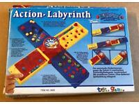 Action Labyrinth Jetball 4 Action Games. Complete And Good Condition.