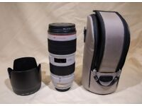Canon EF 70-200mm F2.8L IS MARK II USM In Mint condition £1049