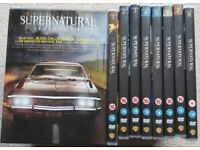 Supernatural Series 1 - 8 DVD