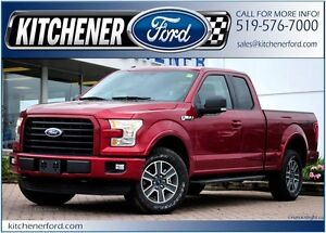 2016 Ford F-150 XLT/LESS THAN 5,000 KM!/CAMERA/TOW PKG/SPRAY...