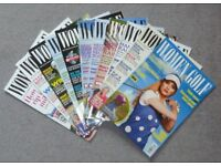 Bundle of 11 Women and Golf Magazines