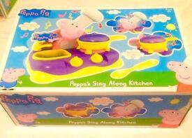 Peppa pig sing along kitchen new £10