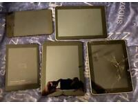 Joblot tablets spares or repair parts etc