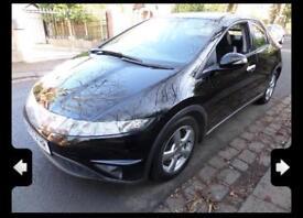 Honda Civic Black i-VTEC SE 5 dr