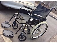 NSV RANGER - FULLY WORKING FOLDABLE WHEELCHAIRS - FANTASTIC CONDITION - £95 ONO QUICK SALE