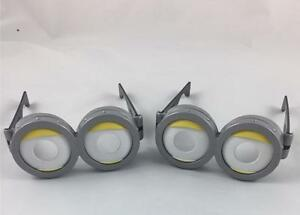 2 PAIRS OF KIDS MINION GLASSES