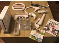 Nintendo Wii Console with Wii Sports & Mariokart
