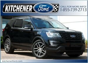 2016 Ford Explorer Sport SPORT/4WD/LEATHER/TOW PKG/PANO ROOF/...