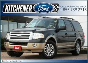2011 Ford Expedition 4WD/LEATHER/HEAT&COOL SEATS/CAMERA/ROOF/...