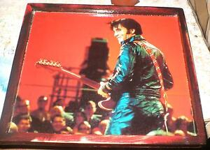 Elvis Presley - 3 diff. pics -mounted, ready to display