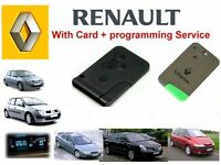 Manchester rochdale bolton leeds bury Renault Megane Scenic Laguna key card supplied and programmed