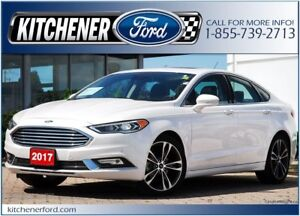 2017 Ford Fusion Titanium 0% OAC/EXEC DRIVEN/AWD/LOADED/ONLY...