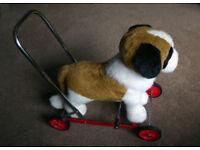 Push Along Merrythought Toy Dog