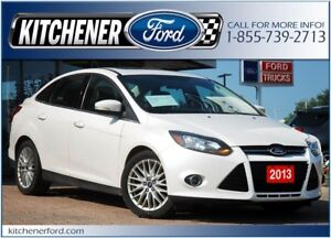 2013 Ford Focus Titanium LEATHER/HTD SEATS&MIRRORS/ROOF/PWR G...