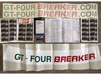 TOYOTA CELICA GT4 GT-FOUR ST185 ST205 parts job lot business for sale bulk 3sgte engine