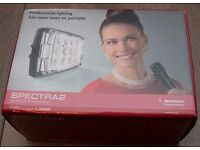 Manfrotto Spectra2 LED Light Panel - 12 LED - 650Lux @ 1m - Brand new in box